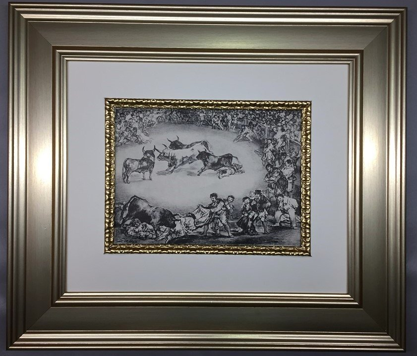Francisco Goya Lithograph