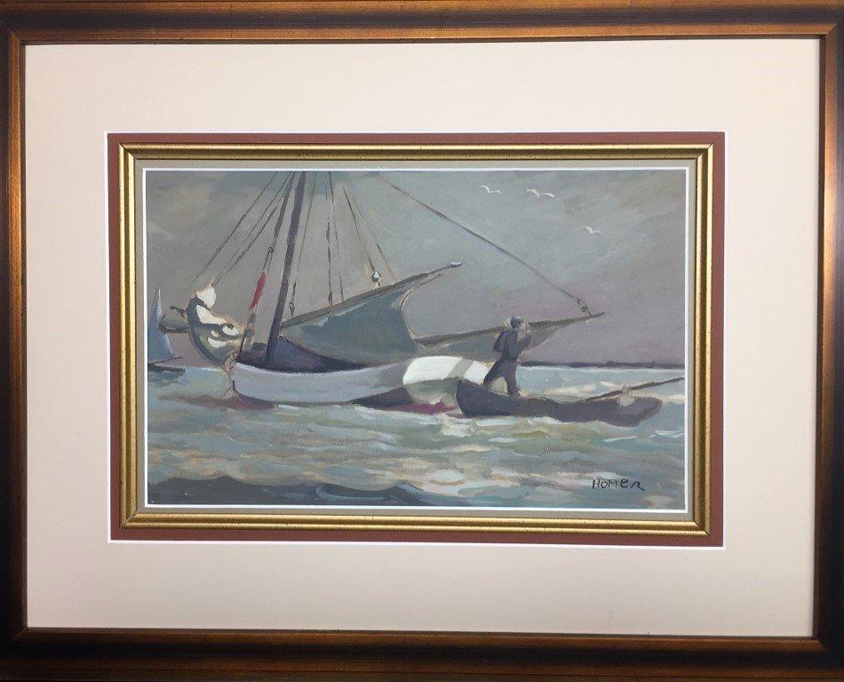 Winslow Homer Gouache on Paper - 2