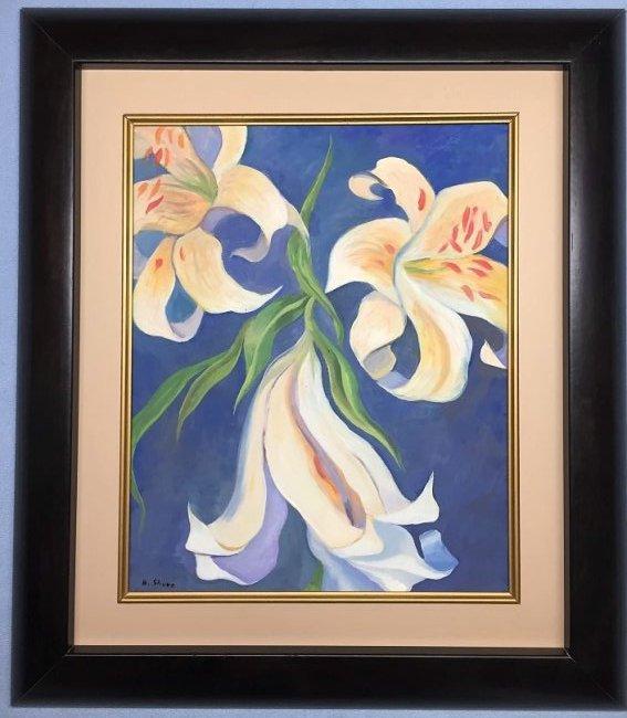 Henrietta Mary Shore Watercolor