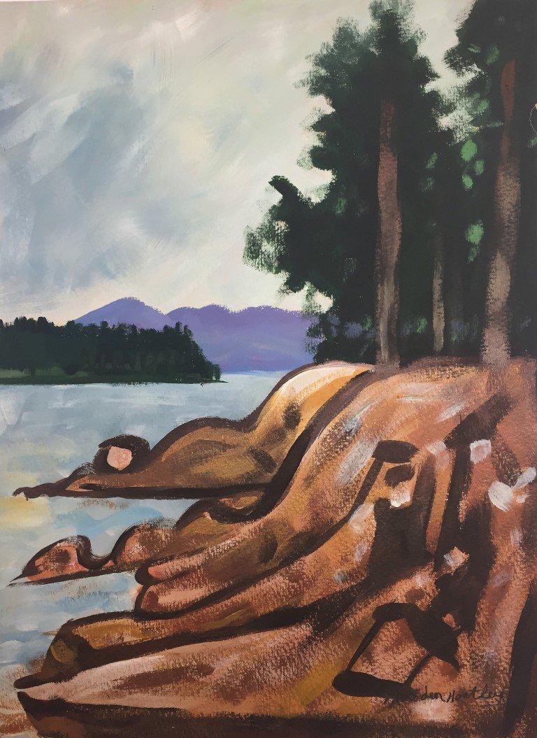 Marsden Hartley Watercolor - 2