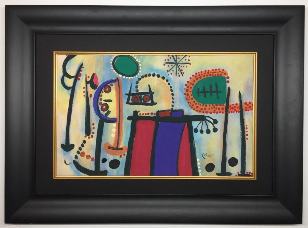 Joan Miro Watercolor