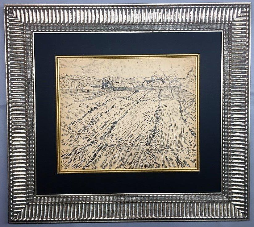 Vincent Van Gough Graphite on paper