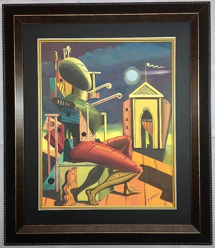 Giorgio De Chirico Watercolor