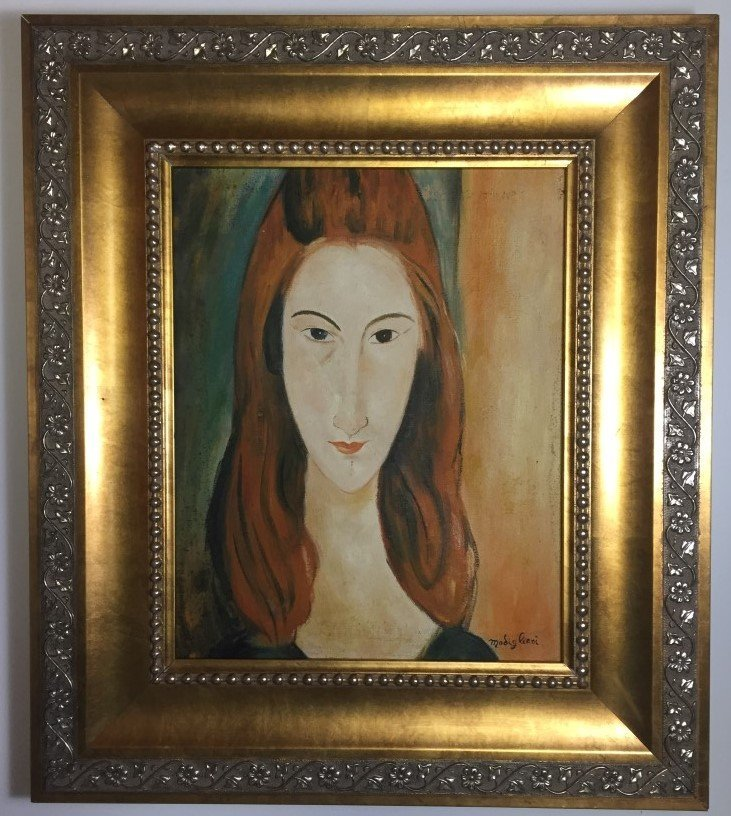 Amedeo Modigliani Oil on canvas