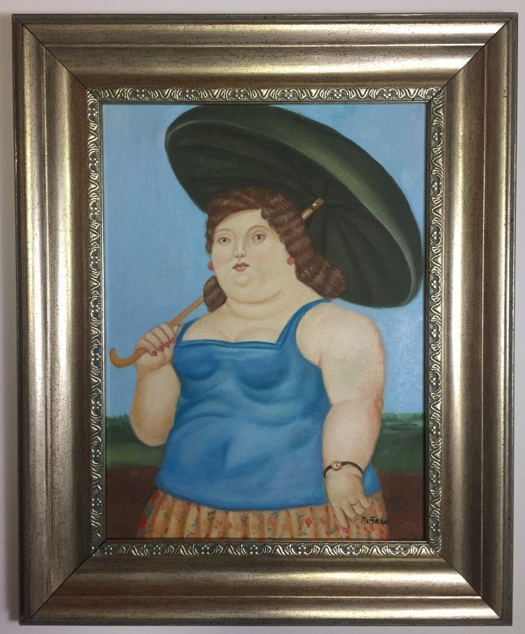 Fernando Botero Oil on canvas