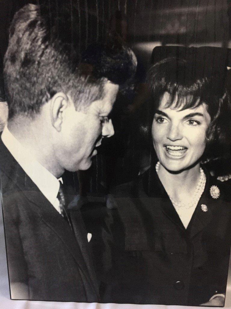 John F . Kennedy & Jacqueline Onassis