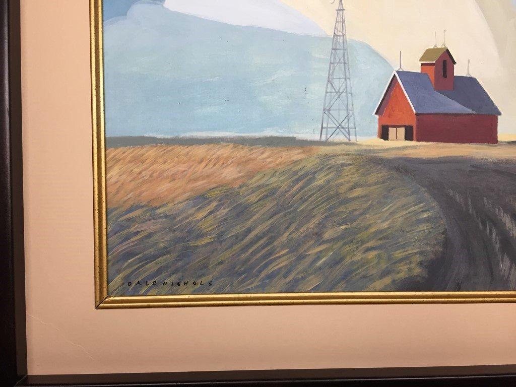 Dale Nichols Watercolor - 2