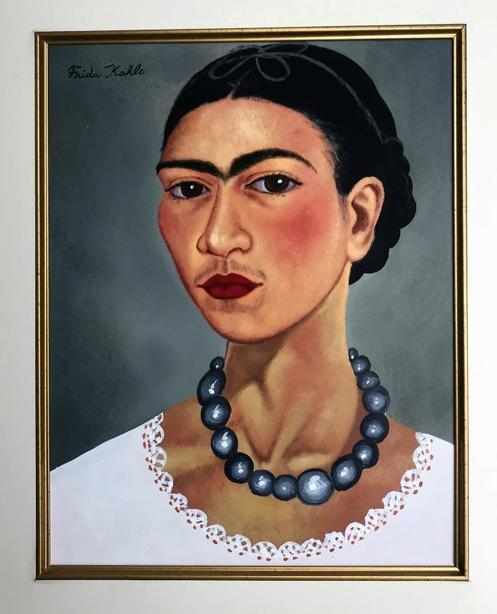 Frida Kahlo Watercolor - 2