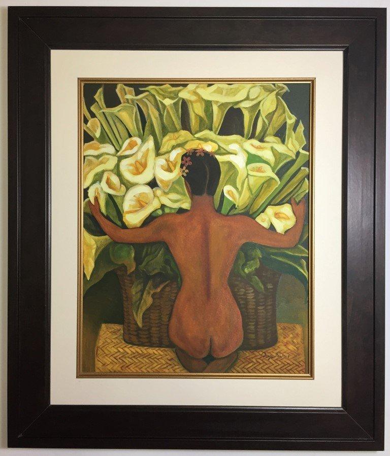 Diego Rivera  Gouache on Paper