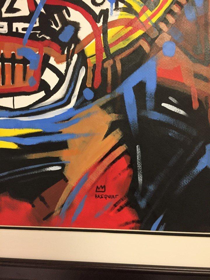 Jean-Michel Basquiat Mixed Media on heavy paper - 3