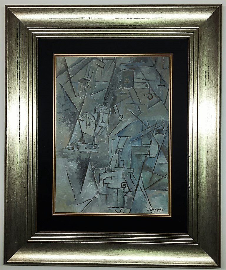 Georges Braque Mixed Media   on paper