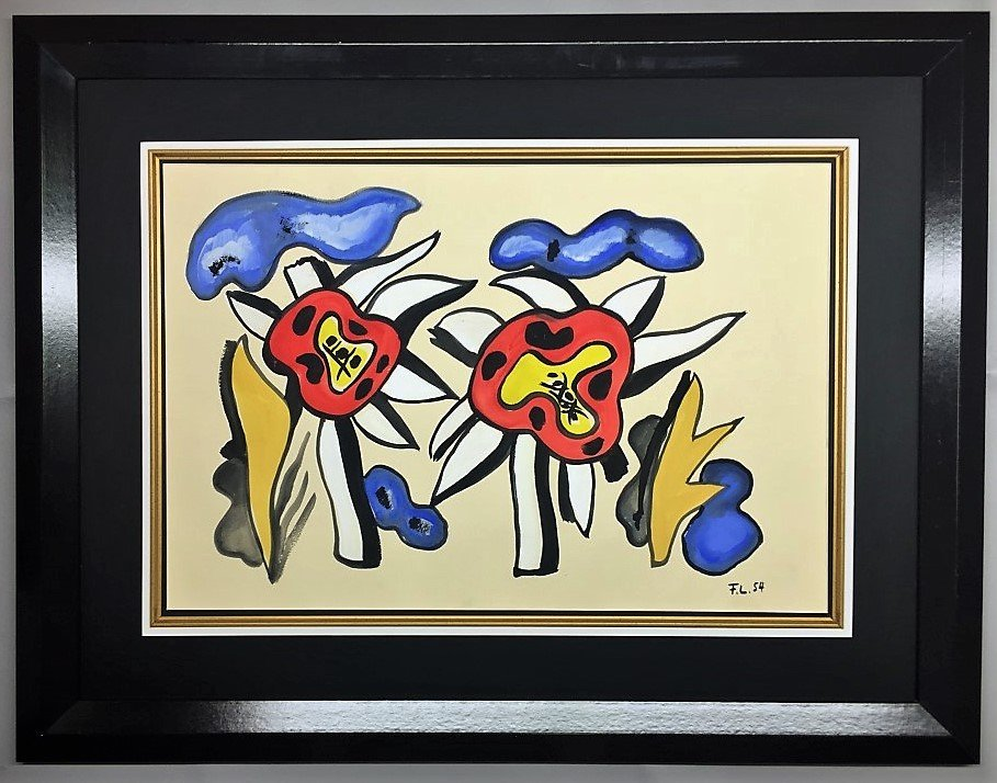 Fernand Leger  Mixed Media on paper