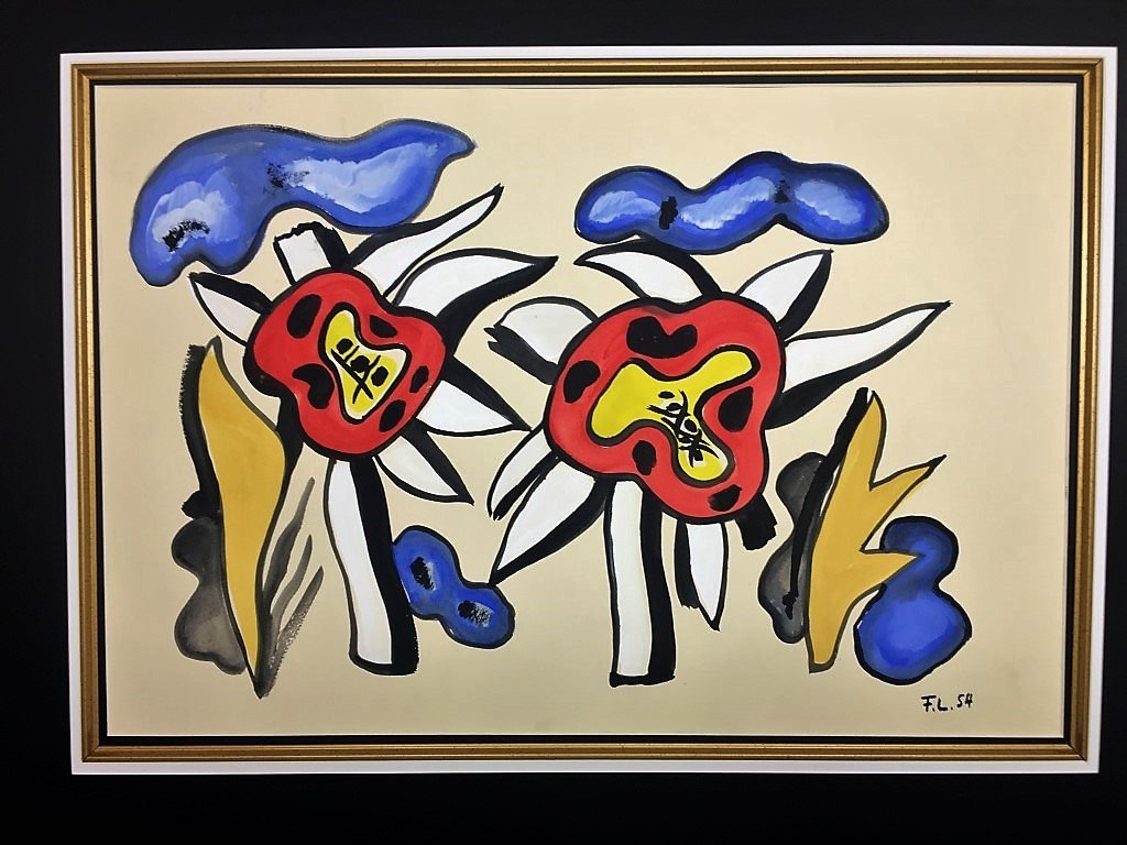 Fernand Leger  Mixed Media on paper - 2