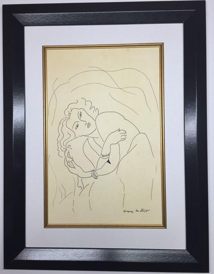Henri Matisse  Ink on paper