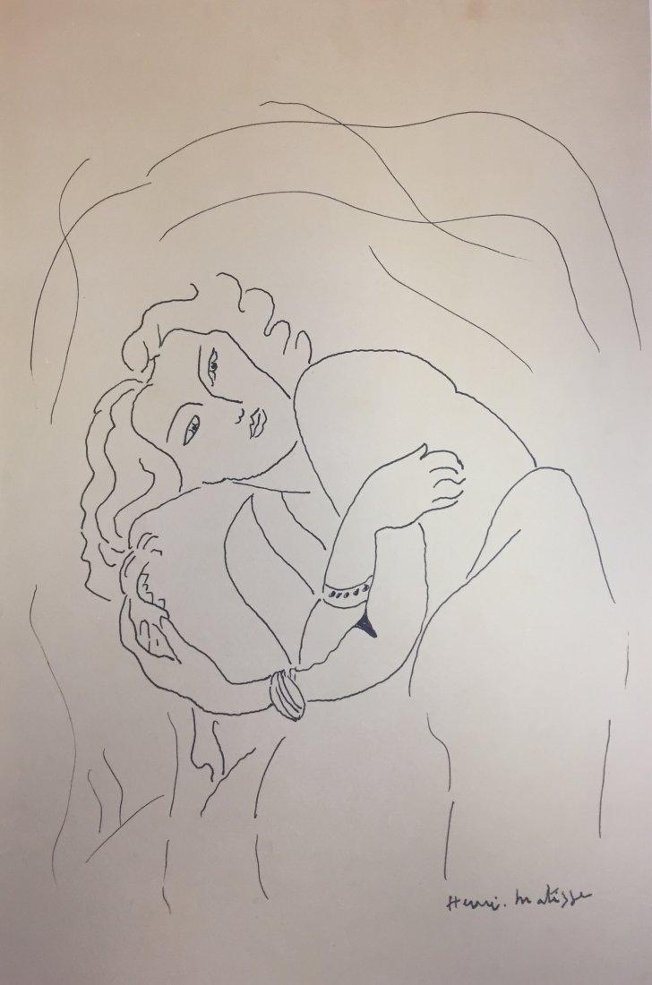Henri Matisse  Ink on paper - 2
