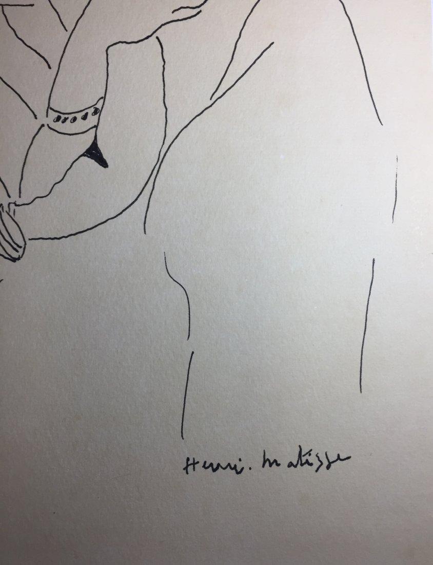 Henri Matisse  Ink on paper - 3