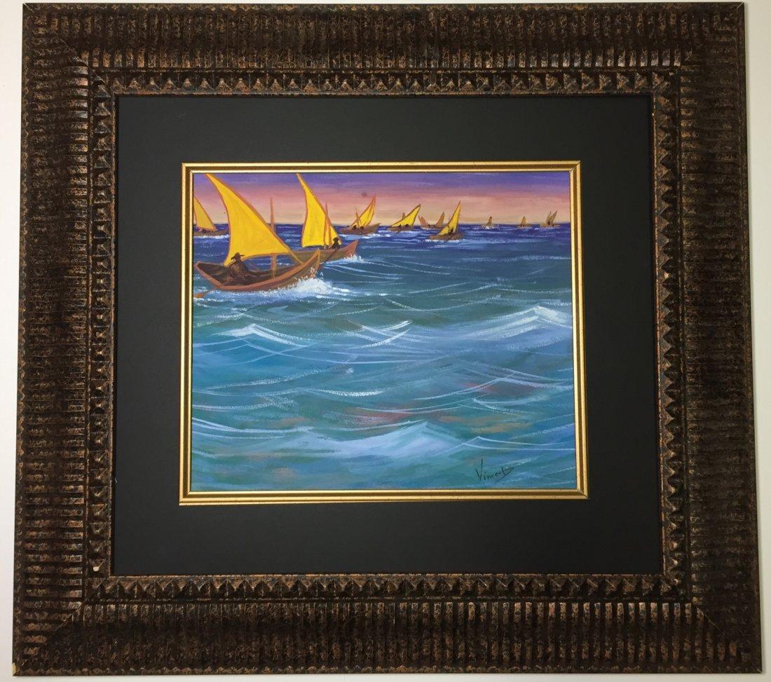 Vincent van Gogh Watercolor