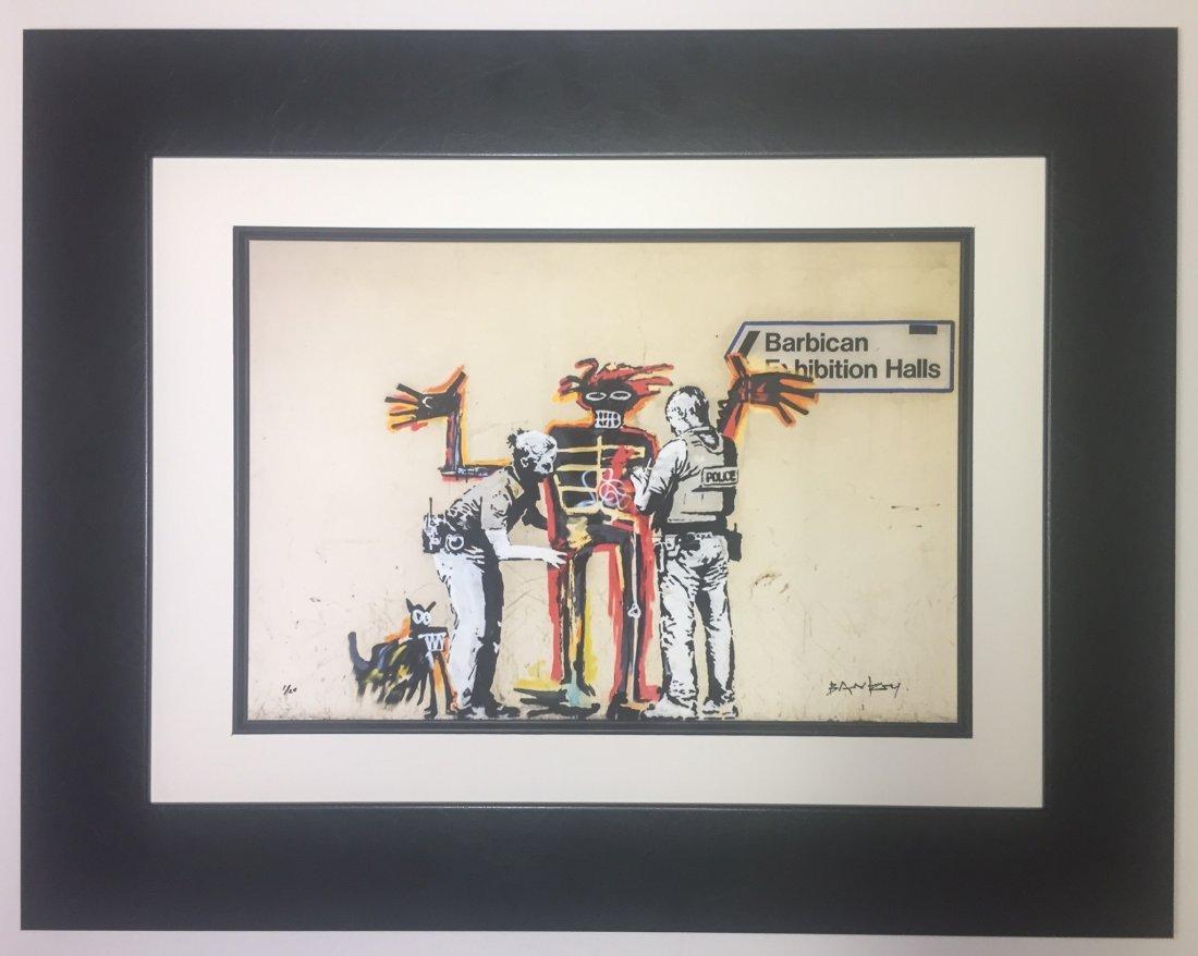 Banksy Lithograph