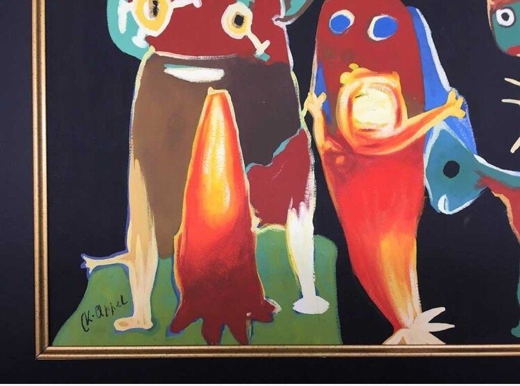 Karel Appel Gouache on Paper - 2