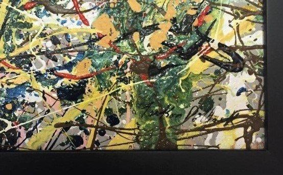 Jackson Pollock Oil on Canvas - 3