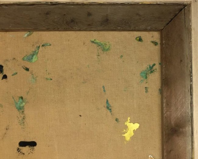 Jackson Pollock Oil on Canvas - 4