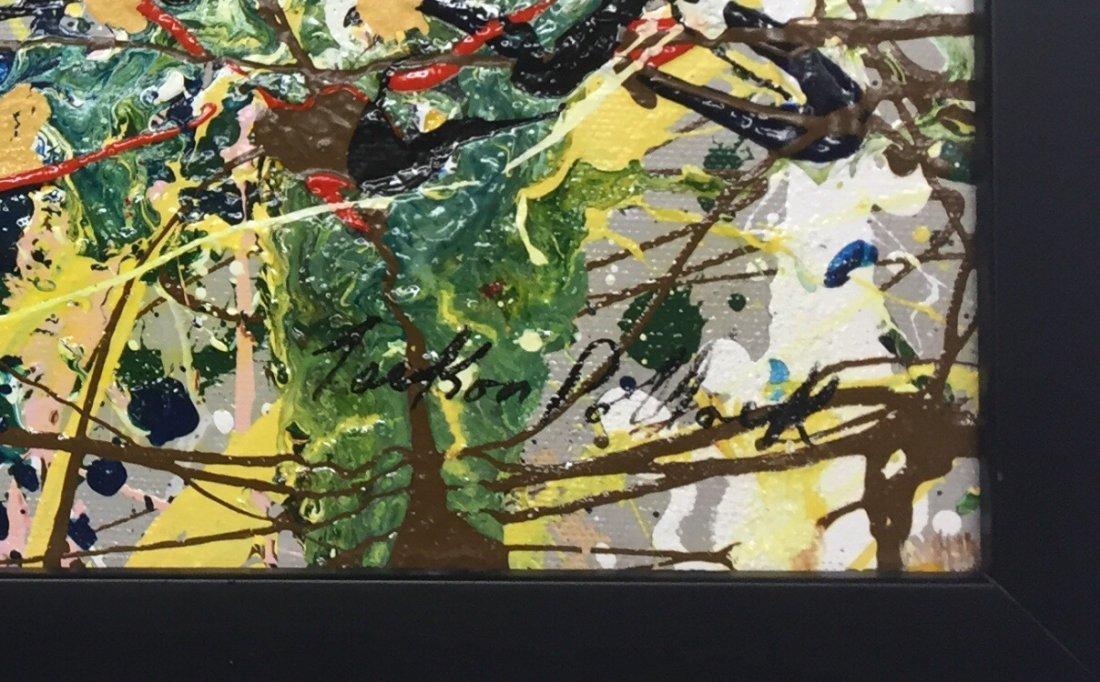 Jackson Pollock Oil on Canvas - 6