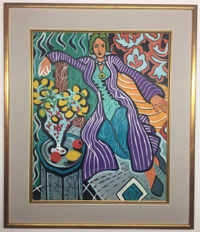 Henri Matisse Watercolor