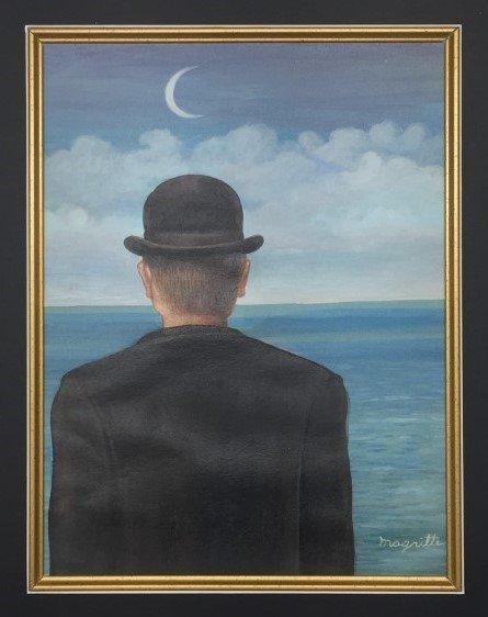 Rene Magritte Gouache on paper