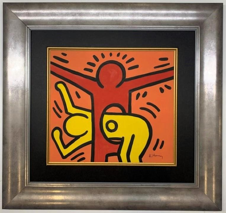 Keith Haring Mixed Media