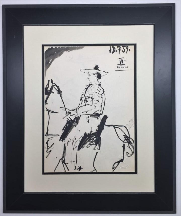 Pablo Picasso Lithograph signed