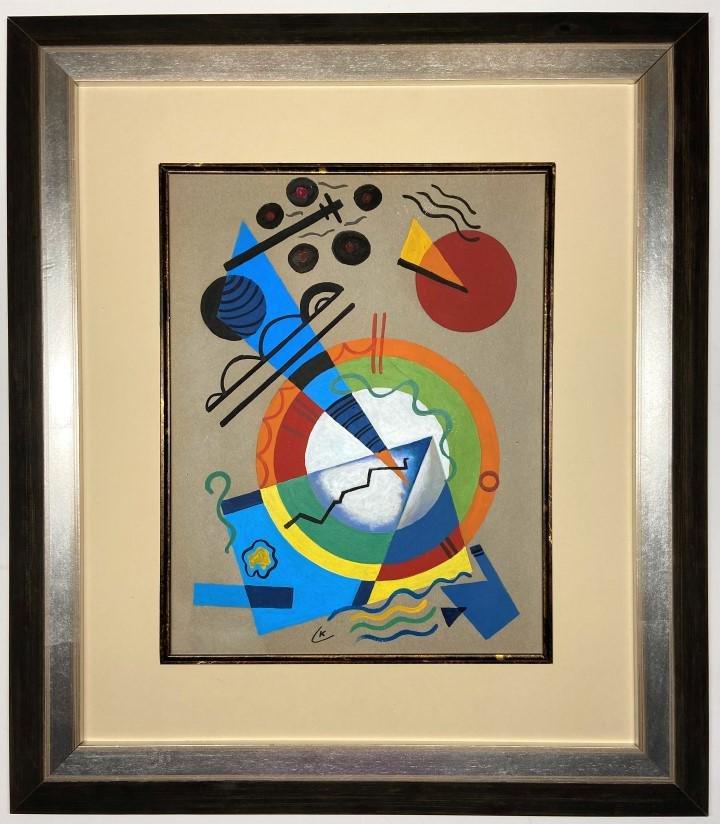 Wassily Kandinsky  watercolor