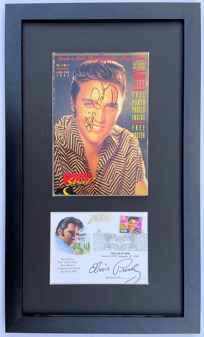 Elvis Presley Rock & Rock Memorabilia Magazine