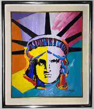 Peter Max Mixed Media