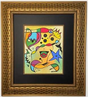 Joan Miró  Mixed Media on Paper