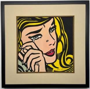 Roy Lichtenstein Watercolor