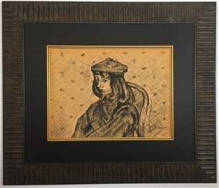 Camille Pissarro Graphite on paper