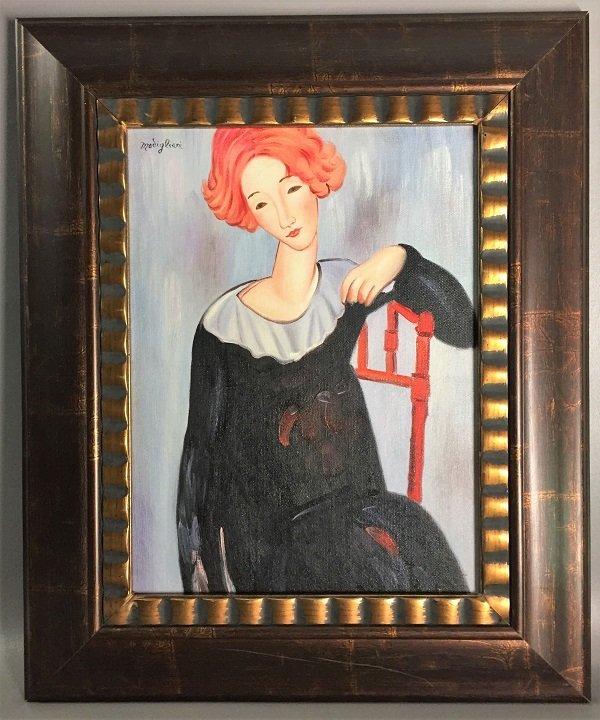 Amedeo Modigliani  Oil on Canvas