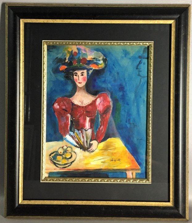 Marc Chagall Mixed Media
