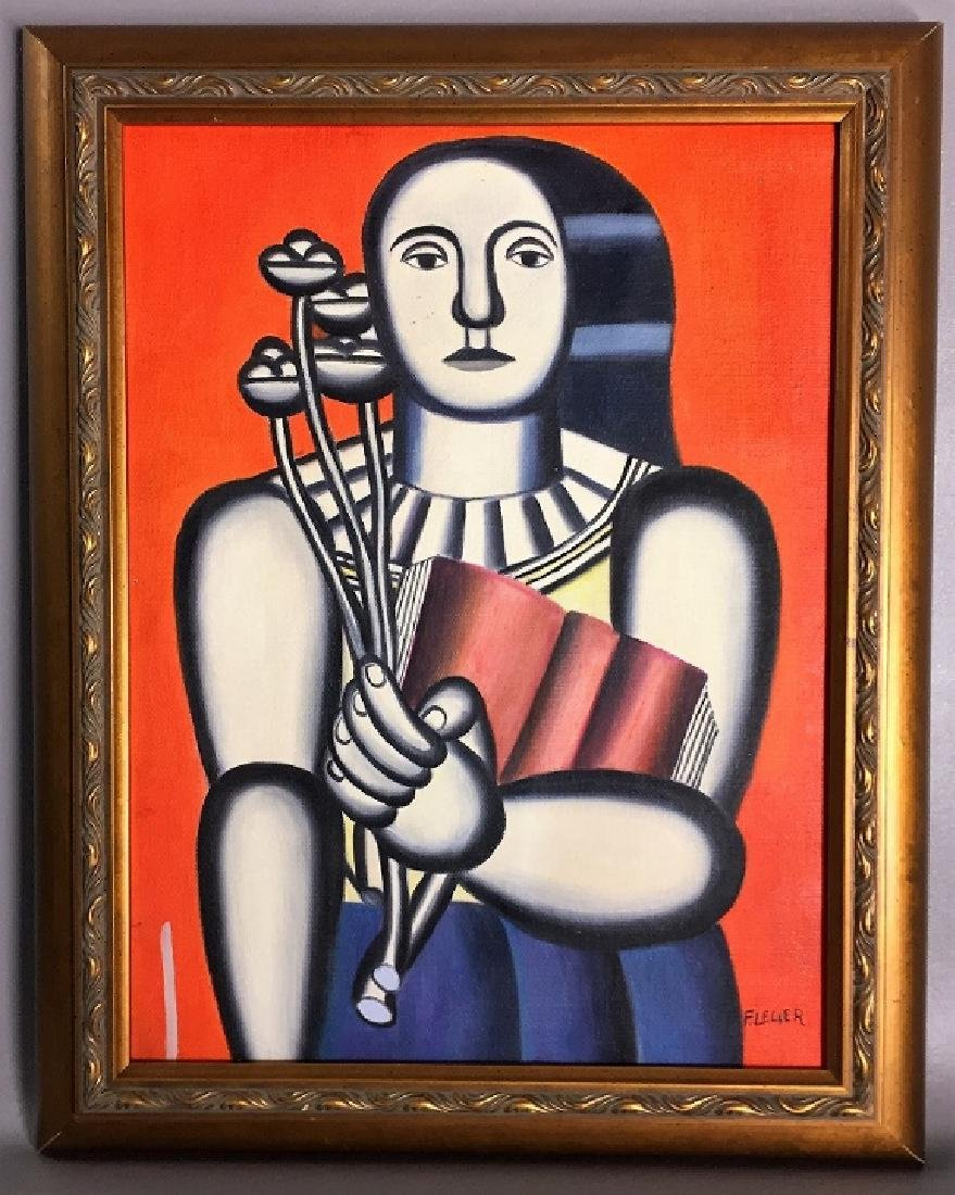 Fernand Leger  Oil on Canvas