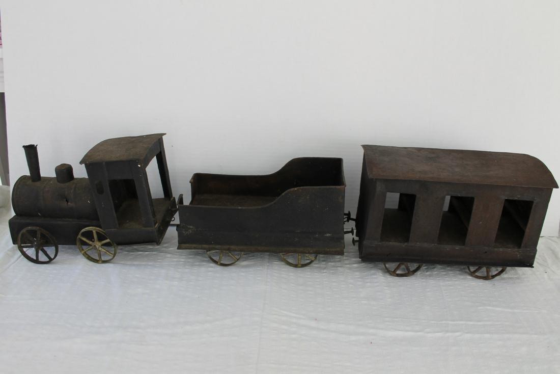 Toy Tin Train