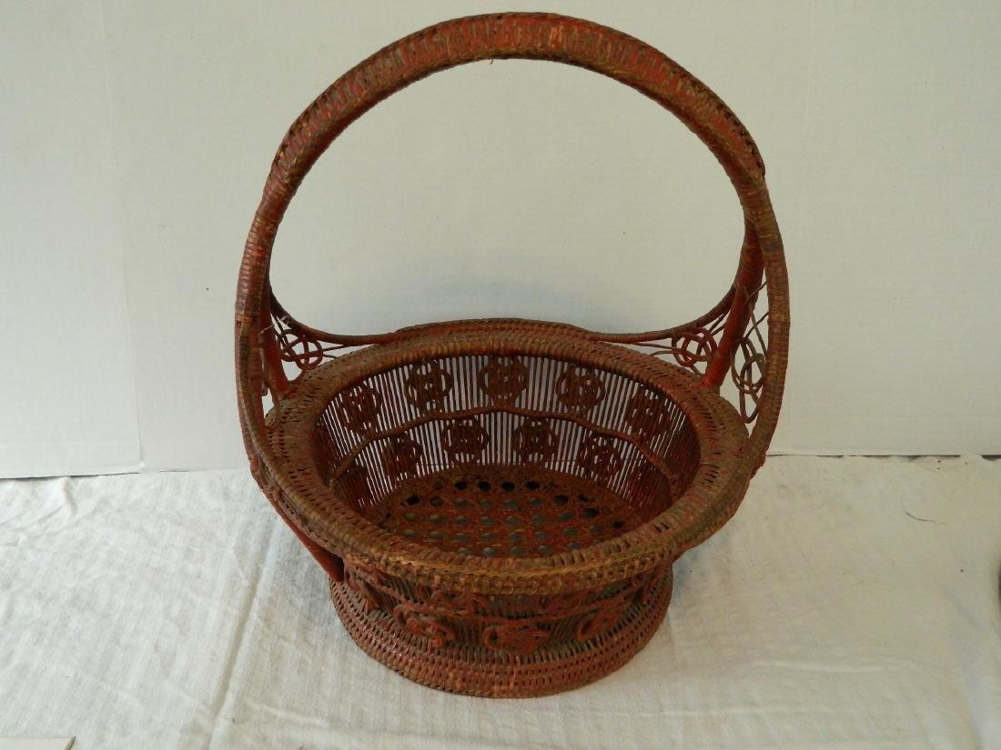 Chinese Egg Basket, C. 1850
