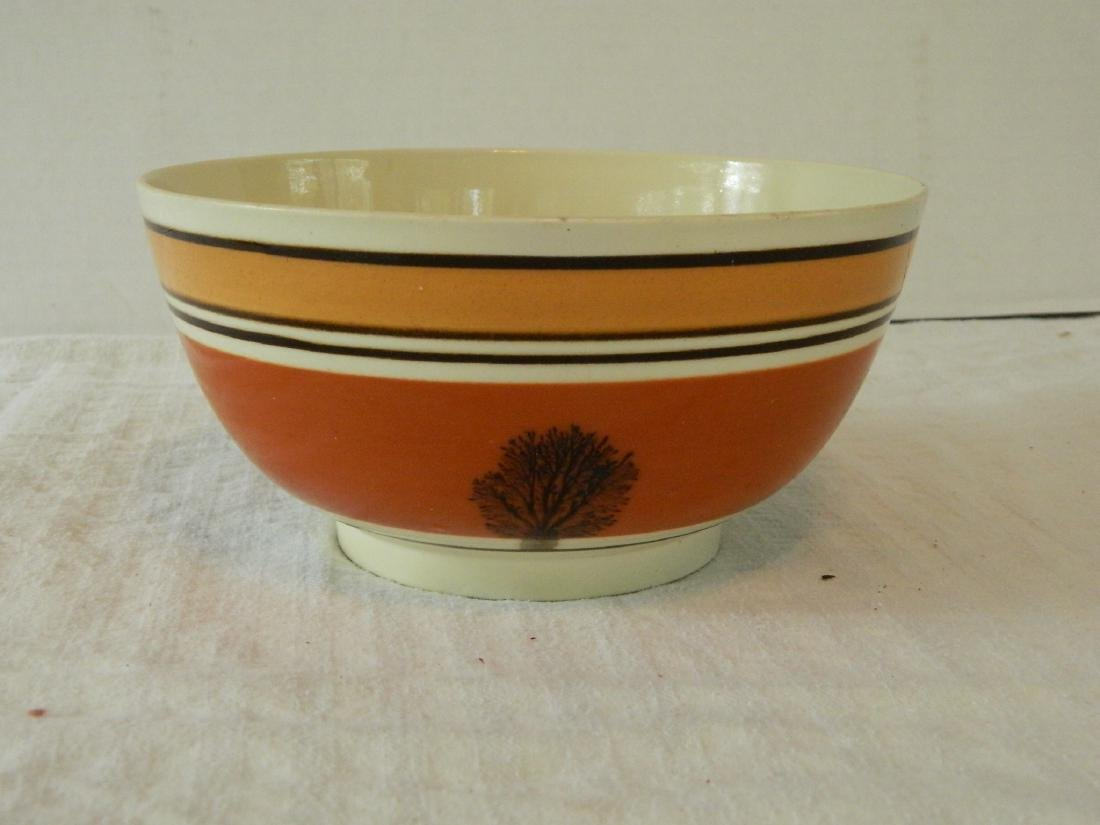 Seaweed Pattern Mocha Bowl, C. 1820