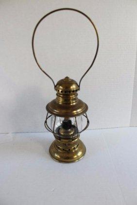 Early Brass Railroad Lantern
