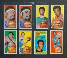 1970 Topps Basketball Cards (72)