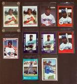 Ken Griffey, Jr. Ten Early Baseball Cards