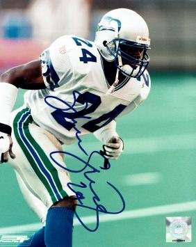 Shawn Springs Seattle Seahawks Signed Photo