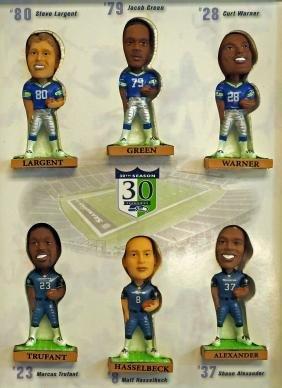 Seattle Seahawks Mini Bobblehead Dolls 30th Season