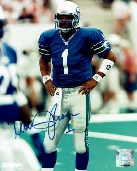 Warren Moon Seattle Seahawks Autographed Photo
