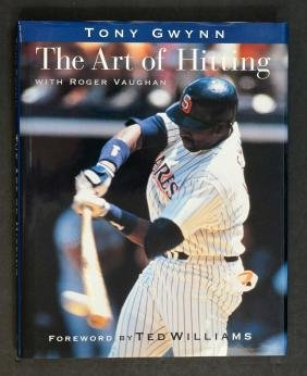 Tony Gwynn Signed First Printing Art of Hitting