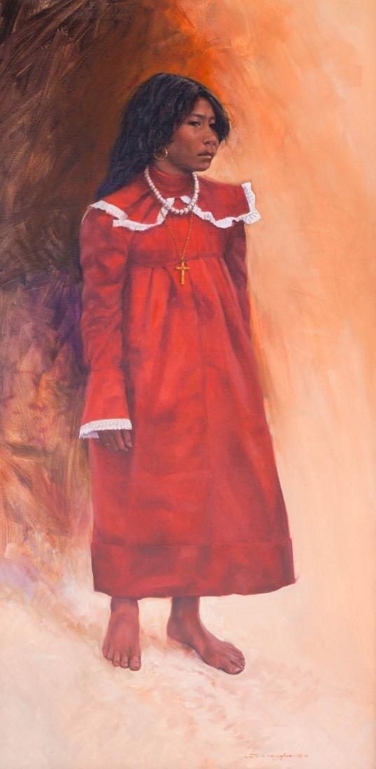 Bill Hughes (CA/AZ, 1932-1992) Framed Oil painting